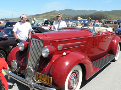 AutoWireNet Road Tests Automotive Events Product Reviews - Half moon bay car show